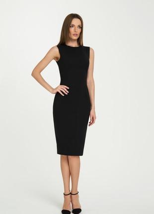 Элегантное новое базовое платье по фигуре миди