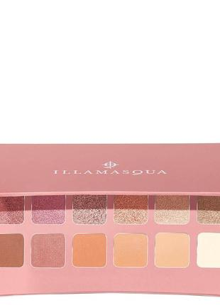 Палетка теней illamasqua nude collection unveiled artistry pal...