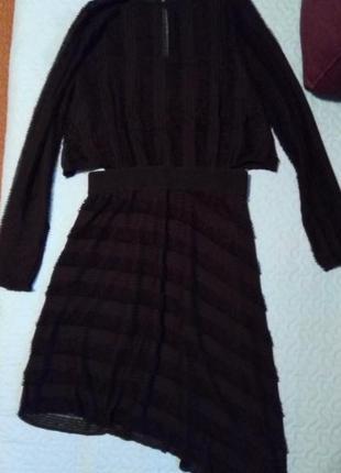 Платье вечернее zara w&b