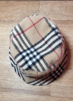 Шерстяная панама, шляпа, шапка в стиле burberry италия