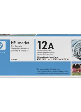 Заправка лазерного картриджа HP Q2612A (12A)