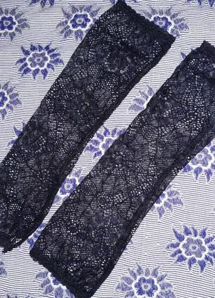 Перчатки капроновые, черные