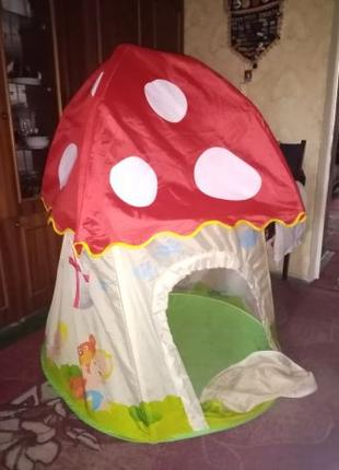 Дом-палатка