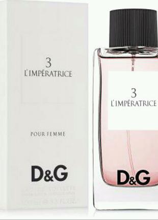 Женская туалетная вода Dolce & Gabbana L`Imperatrice 3