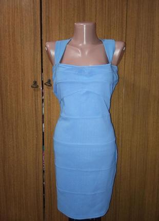 Мини платье-утяжка