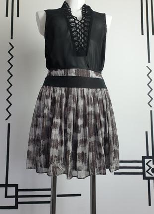 Шелковая юбка с карманами  max & co max mara