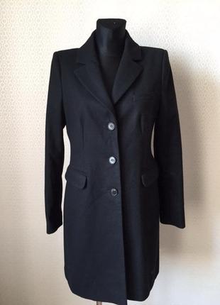 Отличное классическое пальто (шерсть, кашемир) от hallhuber, р...