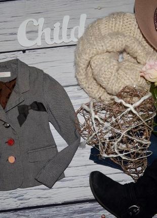 3 - 4 года 104 см H&M Натуральный фирменный пиджак болеро джемпер
