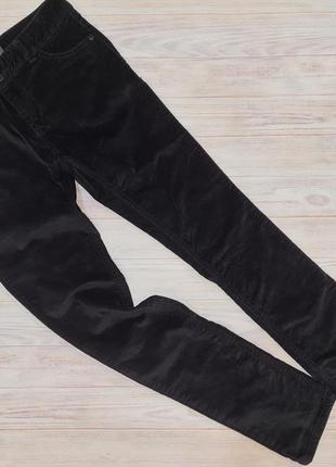 Велюровые джинсы there+here девочке 12-13 лет