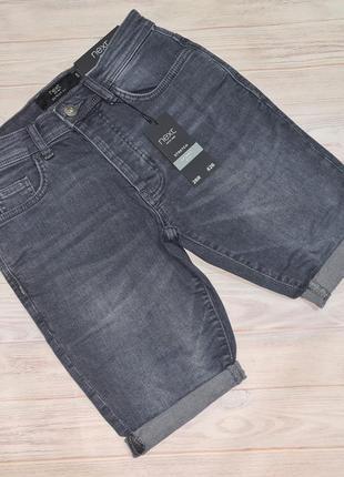 Джинсовые шорты next мужчине или подростку 26 размер