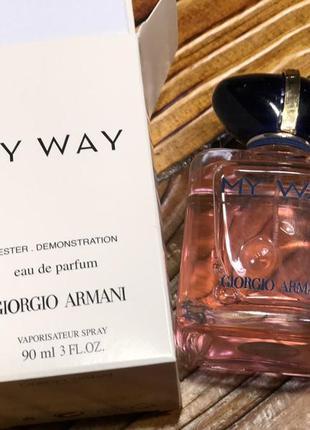Тестер  giorgio armani my way
