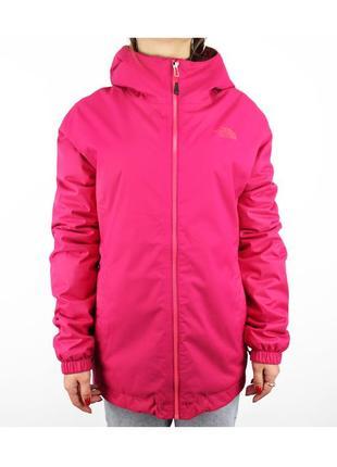 Удлиненная куртка на синтепоне