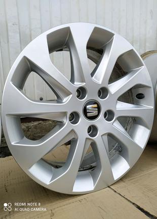 Диски литые оригинал SEAT Volkswagen Skoda R16(5*112)et46