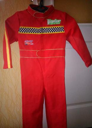 Карнавальный костюм гонщика мальчику