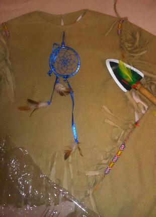 Карнавальный костюм индейца фирмы rubies (сша ) р.116