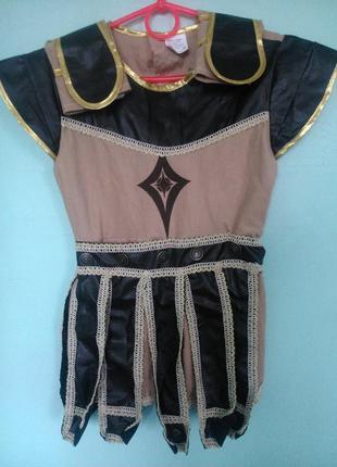 Карнавальный костюм гладиатора , спартанца мальчику