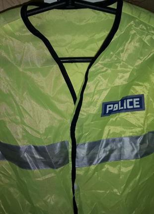 Карнавальный костюм полицейского мальчику