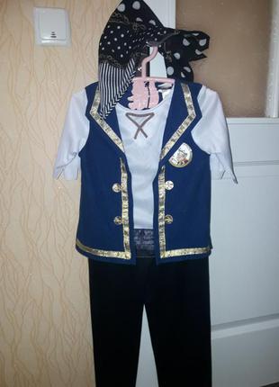 Карнавальный костюм пирата мальчику