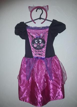 Карнавальный костюм кошечка девочке