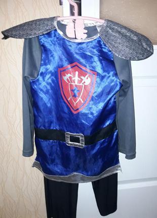 Карнавальный костюм рыцарь мальчику