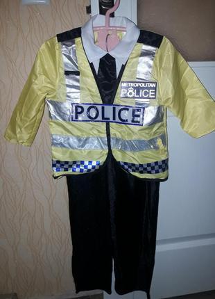 Карнавальный костюм полицейский мальчику
