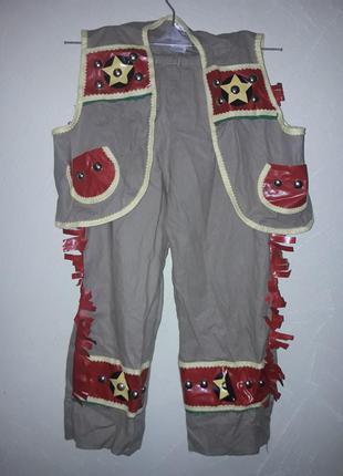 Карнавальный костюм индеец,ковбой мальчику