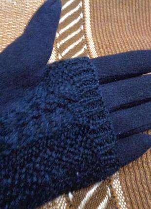 Модные  детские-подростковые  перчатки на меху.  акция до 20,11