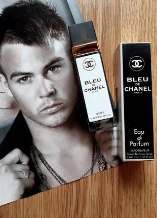 Bleu парфюм тестер 40 мл, туалетная вода, мужской парфюм, парфюмы