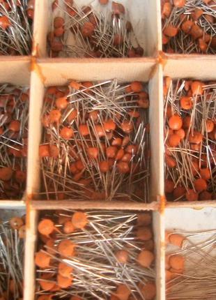 Конденсаторы керамические на напряжение 50 В от 1 пФ до 0,1 мкФ