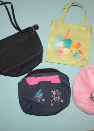 Фирменные детские сумочки состояние нового и б/у,одна на выбор