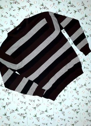 🎁1+1=3 фирменный мужской свитер в полоску cedarwood state, раз...