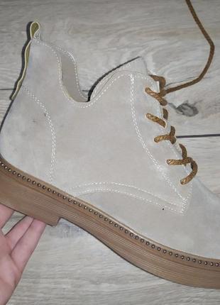 Ботинки деми осень женские платформа  толстая подошва мартинсы