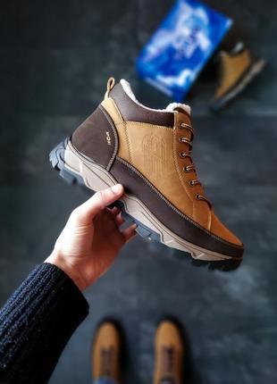Мужские зимние ботинки с мехом без бренд с мехом зима 🤗