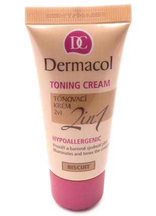 Dermacol тональный крем увлажняющий 2в1
