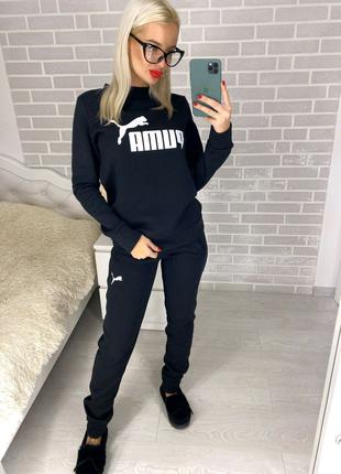 """Женский спортивный костюм """"Puma"""" на флисе"""