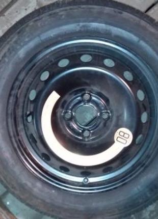 Колесо в сборе Bridgestone 4х100, 175/65/R15 НОВОЕ
