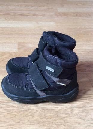 Зимние термо ботинки richter германия 24 размера