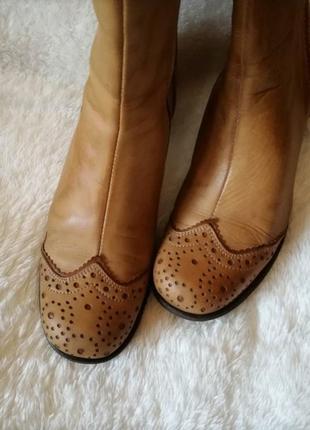 Ботинки полусапожки нат кожа 39 (26 см)