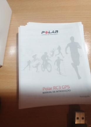 Пульсометр с gps polar rc3 gps