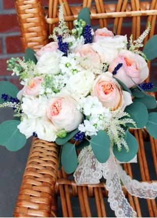Флористическое оформление свадеб живыми цветами