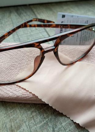 Очки окуляри в тигровой оправе ♥️