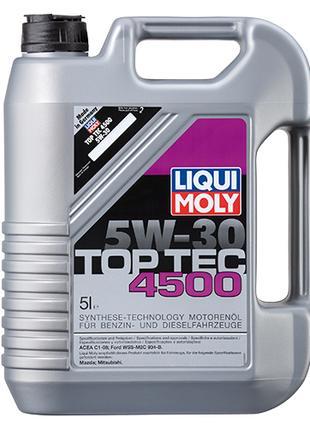 Синтетическое моторное масло - Top Tec 4500 5W-30 5 л.