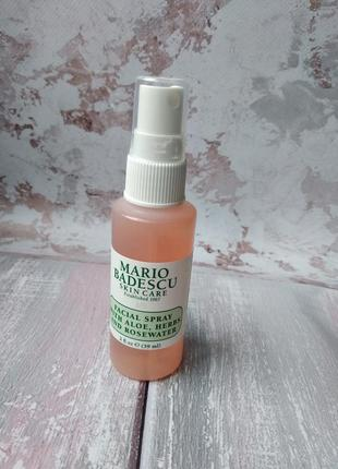 Спрей для обличчя mario badescu facial spray with aloe, herbs ...