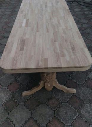 Обідні столи з масиву