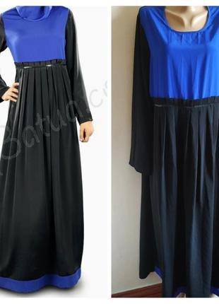 👗шикарное нарядное платье  с карманами большого размера