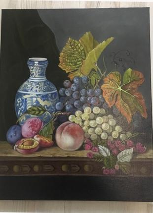 Натюрморт написан по мотивам Эдварда Ладелла