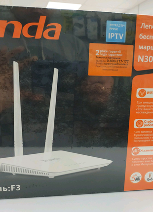 Wi-Fi роутер Tenda F3