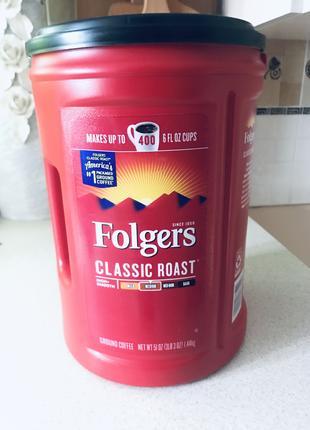 Кава Folgers кофе Folgers