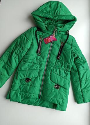 Красивая модная детская куртка весна 🌿 - осень 🍂 для девочки