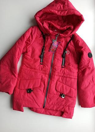 Красивая модная куртка весна 🌿- осень 🍂 для девочки